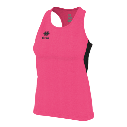 SMITH SINGLET (W) - Pink Fluo/Black