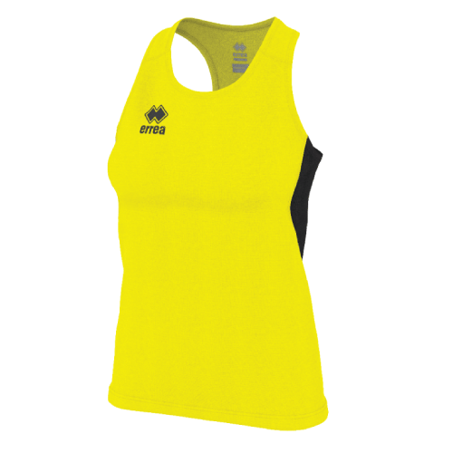 SMITH SINGLET (W) - Yellow Fluo/Black