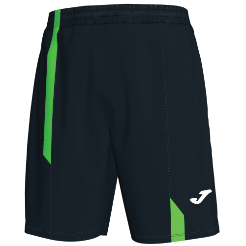 SUPERNOVA BERMUDA SHORT - Black/Fluor Green