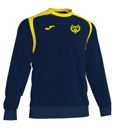 Sweatshirt - Navy/Yellow - CBFC