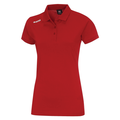 TEAM LADIES POLO - Red