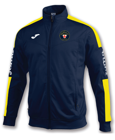 Track Jacket - Navy/Yellow - OBFC