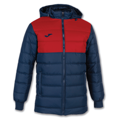 URBAN II WINTER JACKET - Dark Navy/Red